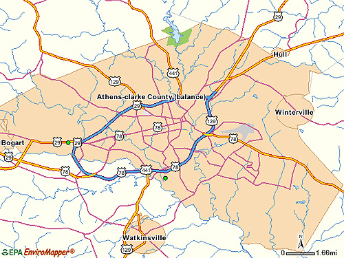 Athens Area EPA Cleanup Sites